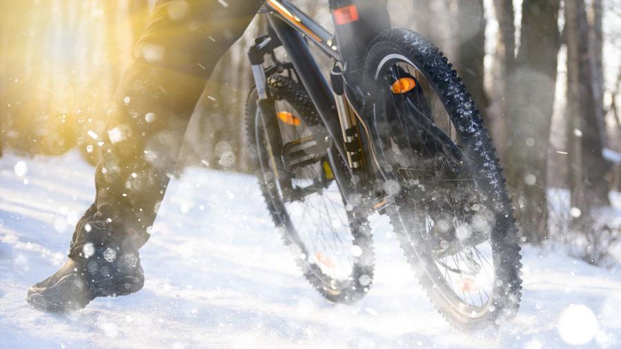 Conseils pour rouler à vélo en hiver