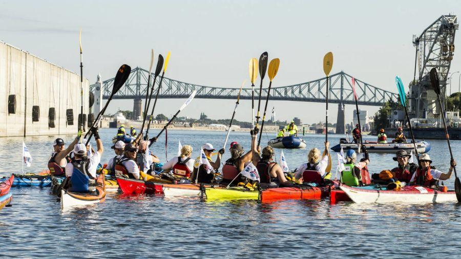 Défi kayak: symphonie fluviale en quatre mouvements