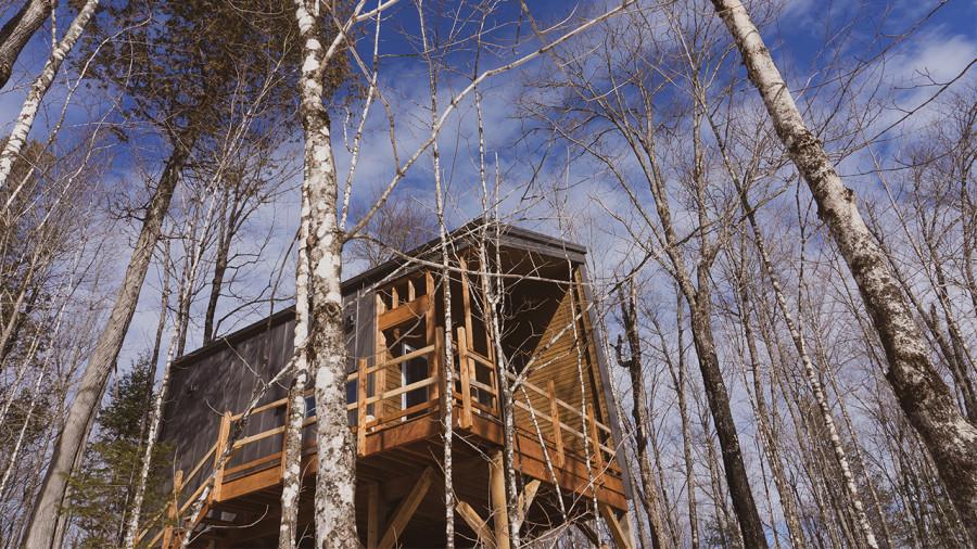 Parc régional Montagne du Diable : un nouveau secteur avec des minimaisons bientôt ouvert