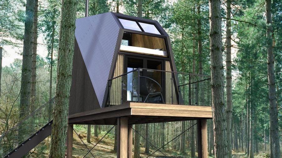 Laö Cabines : De nouveaux chalets futuristes dans les Cantons-de-l'Est