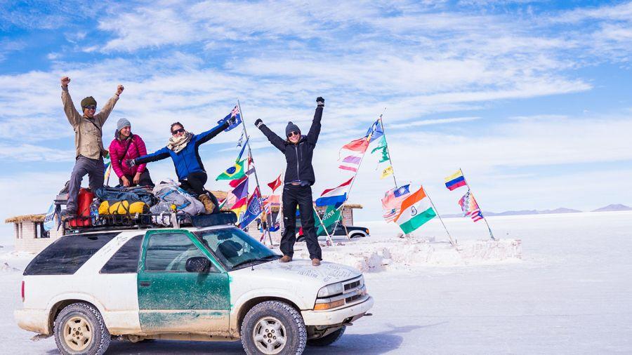 Lydiane autour du monde : cartes postales de Bolivie 3/3