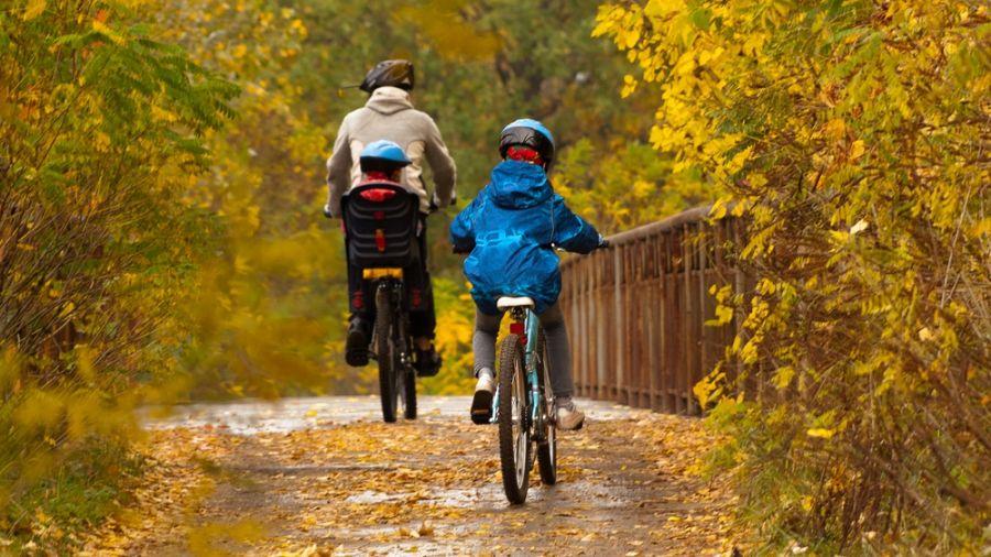 Vacances à vélo : Corridor des Cheminots et Jacques-Cartier