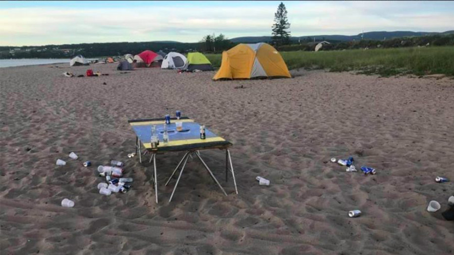 Saison estivale : Charlevoix interdit les campings clandestins