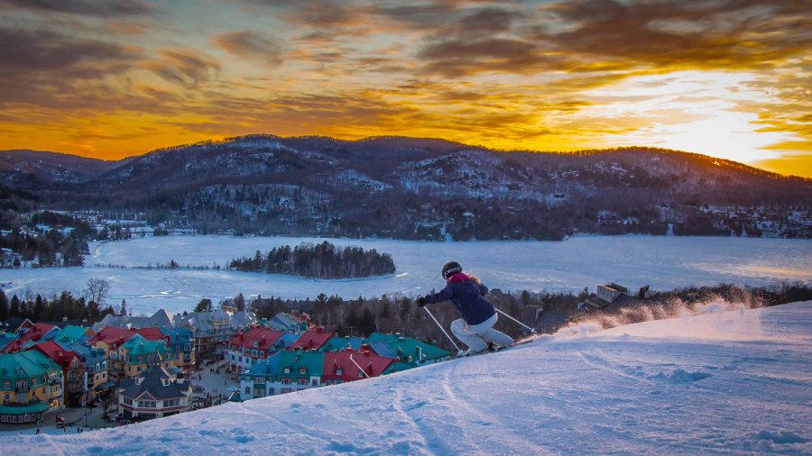 Ski alpin, plein air et gros sous