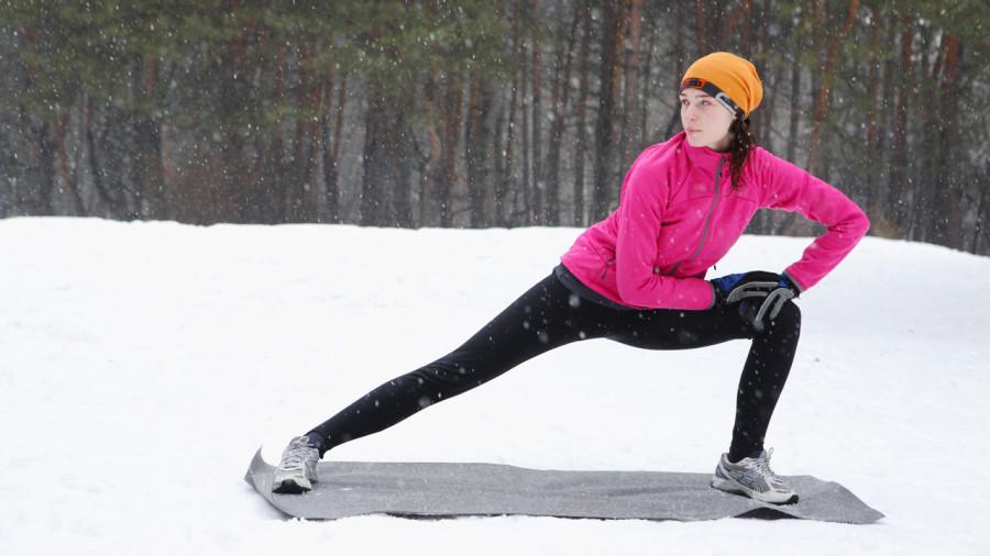 S'entraîner, même l'hiver