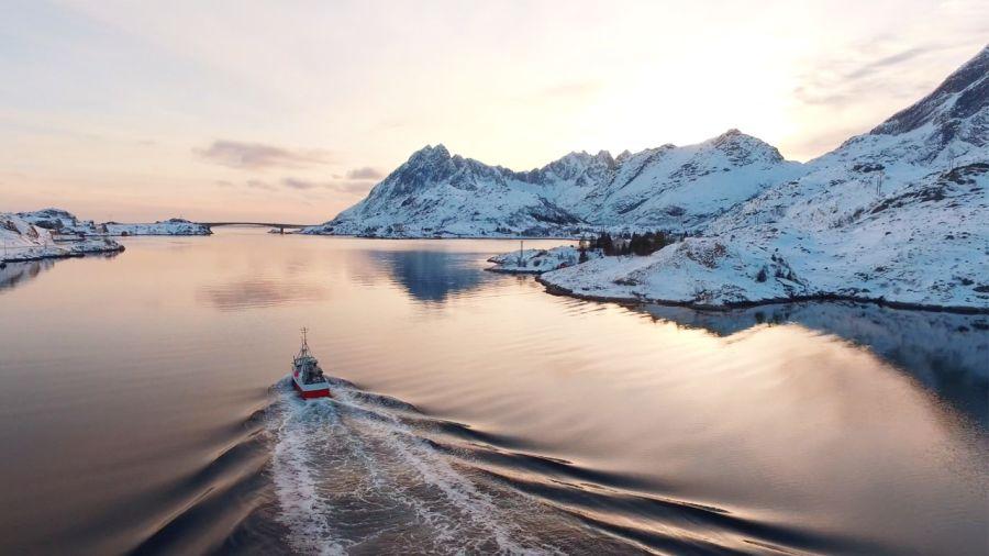 La Norvège en hiver : paradis de la tranquillité