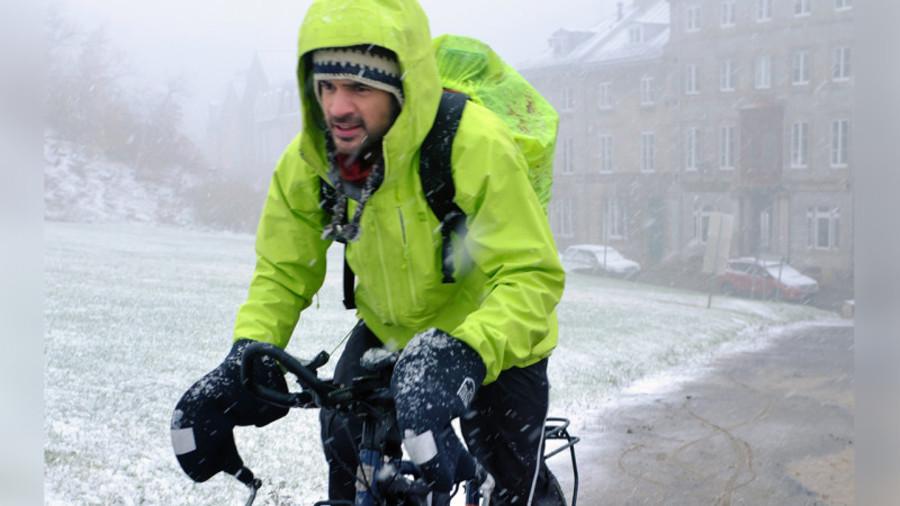 Louis-Joseph Couturier : sa traversée du Canada à vélo en hiver s'arrête