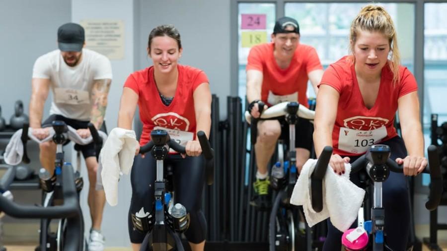 Participez à un triathlon intérieur à Montréal
