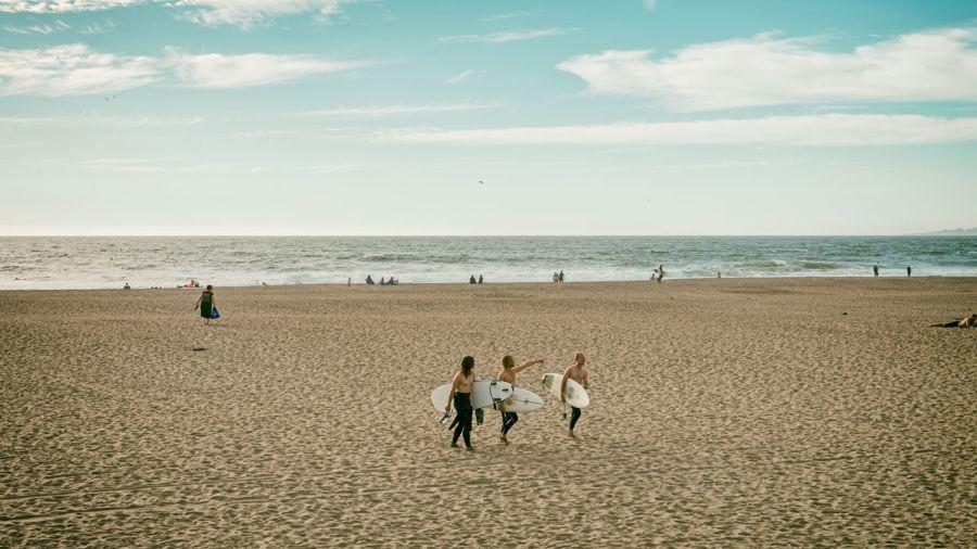 San Francisco : Le joyau des surfeurs expérimentés
