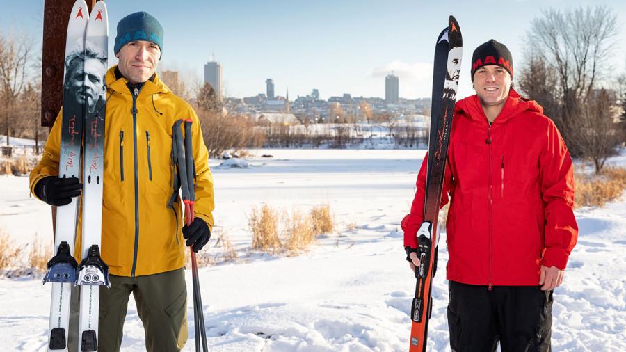 Nos Québécois en expé : 300 km en ski entre Québec et le lac Saint-Jean