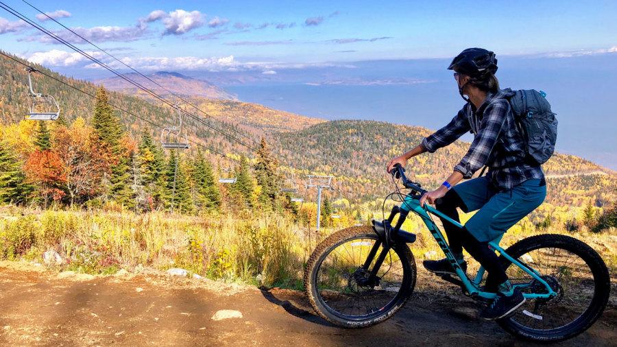 On a testé : la nouvelle piste de vélo de montagne du Massif de Charlevoix