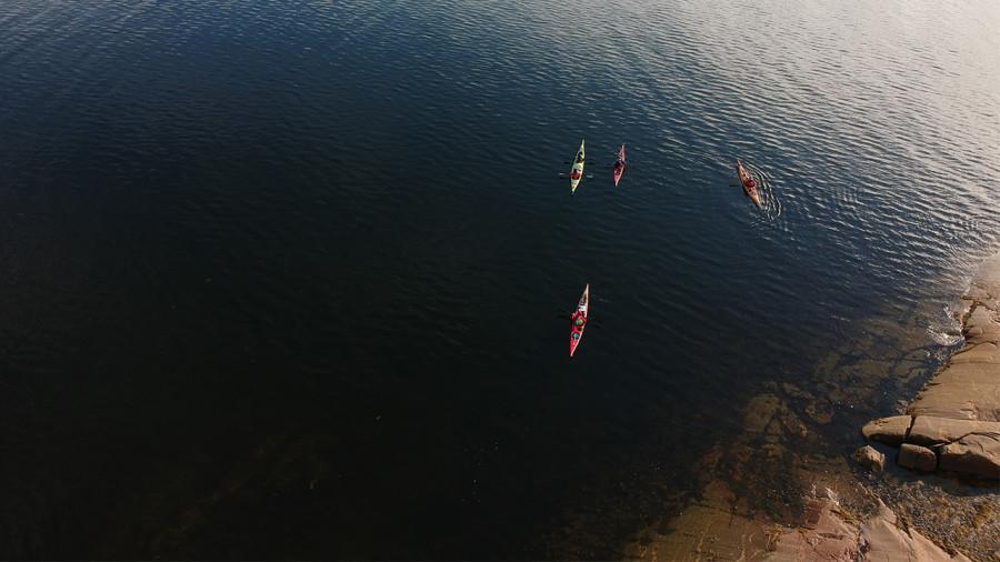 Kayak : quarantaine volontaire en Minganie