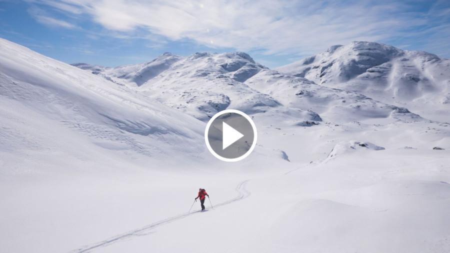Vidéo : Ski hors-piste au Labrador
