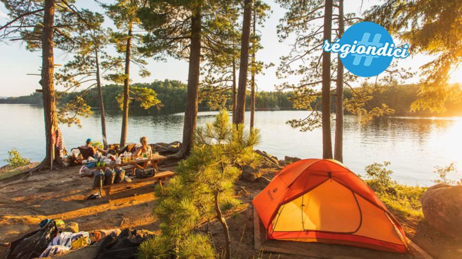 9 endroits pour s'initier au camping sauvage au Québec