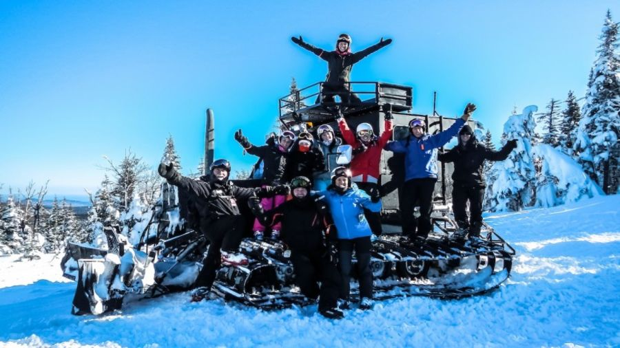 Cat-ski et cat-raquette à la station du Massif du Sud