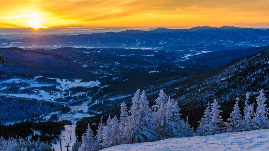 Road trip de ski : pile = Gaspésie / face = Nord-Est des États-Unis