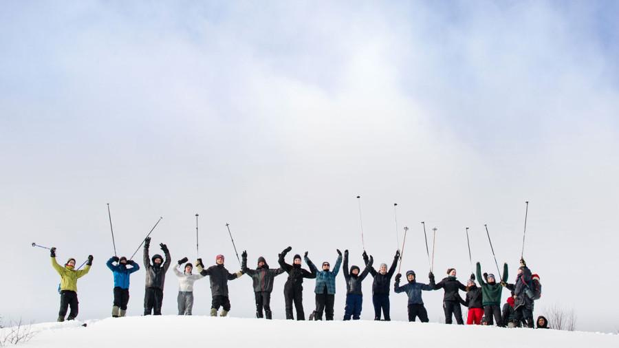 Shack à Réal : L'école l'hiver, autrement