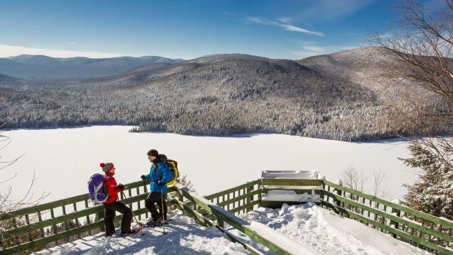 Les plus belles randos hivernales du parc national du Mont Tremblant