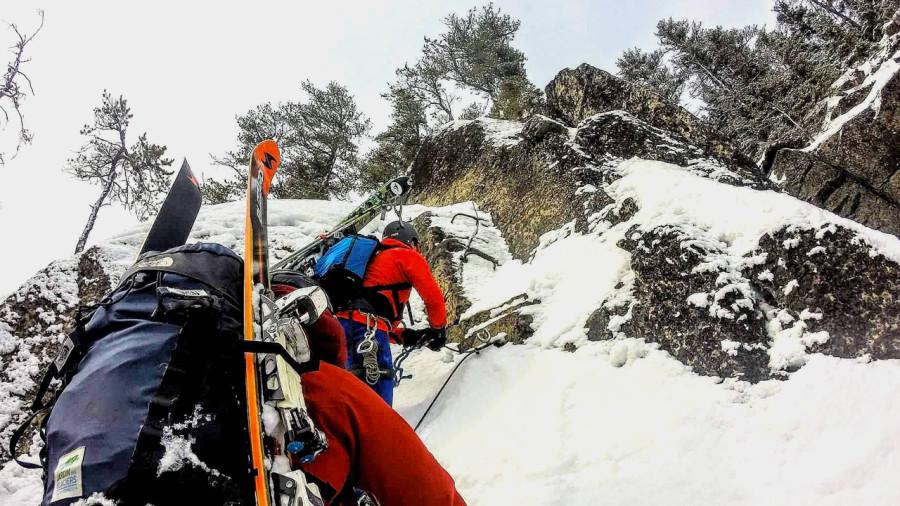 Charlevoix : Via ferrata pour grimper, ski hors-piste pour descendre