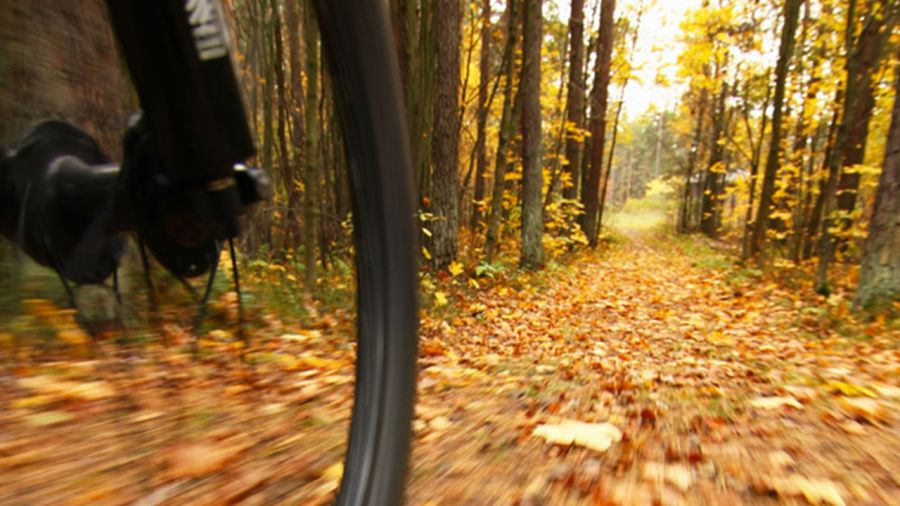 Vélo de montagne à Bromont