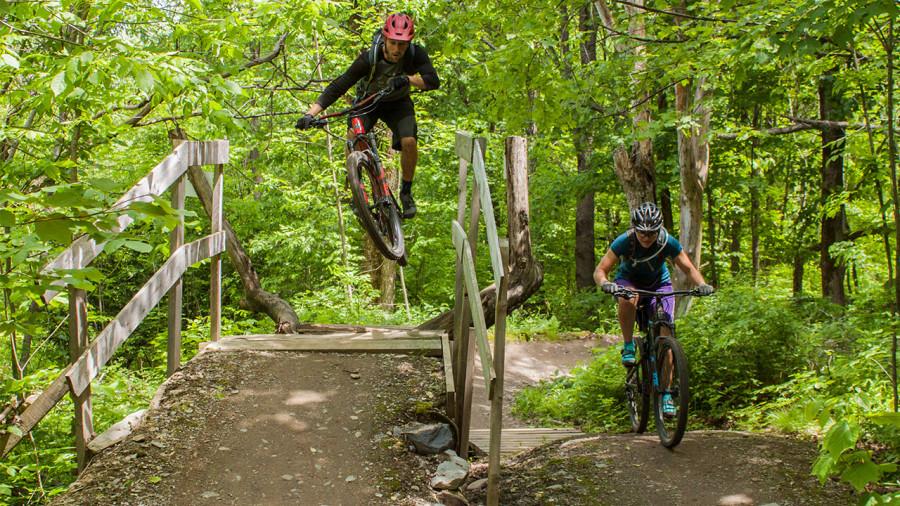 Bromont : petites sucreries cyclistes sur le mont Oak
