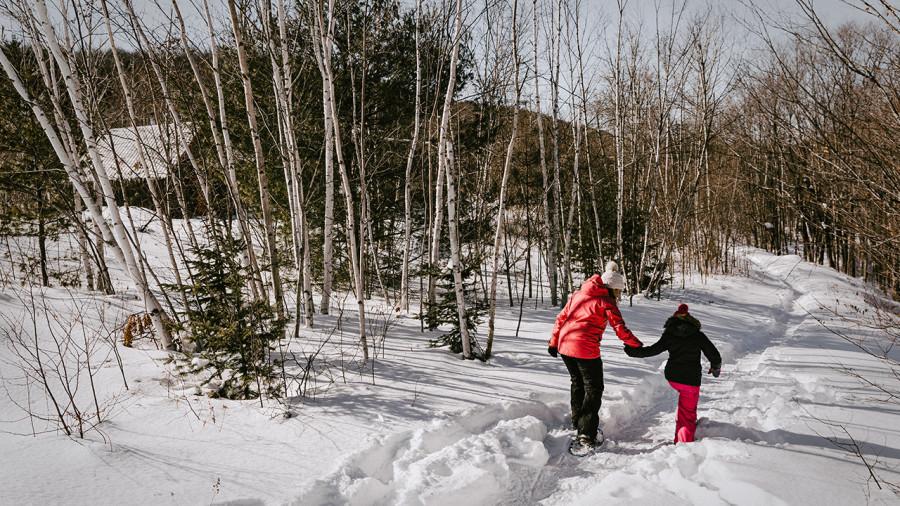 Raquette : 6 endroits où randonner en Outaouais