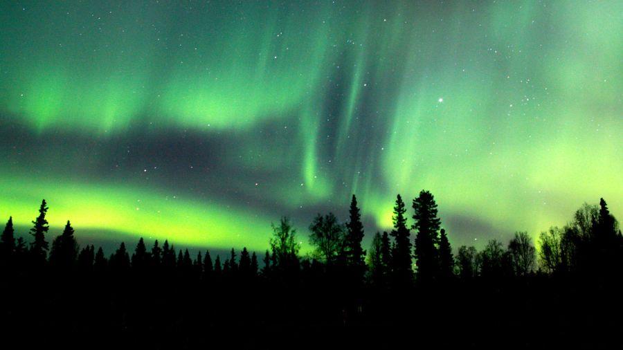 Où chasser les aurores boréales au Québec