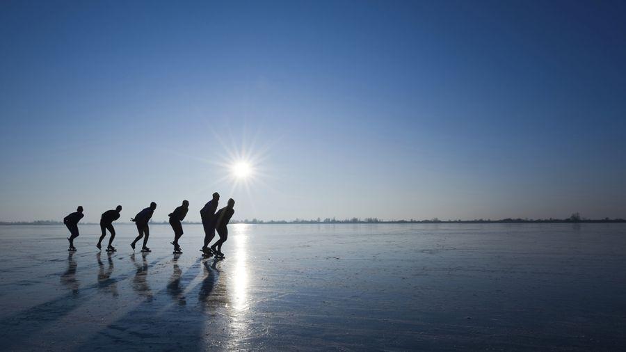 Patinage en plein air : Faire la paix avec soi-même