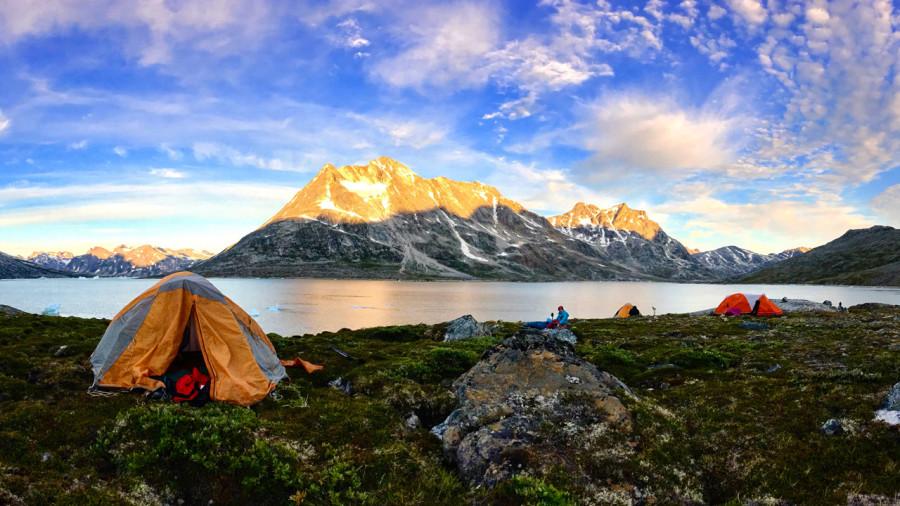 Groenland : pagayer et randonner au pays des icebergs