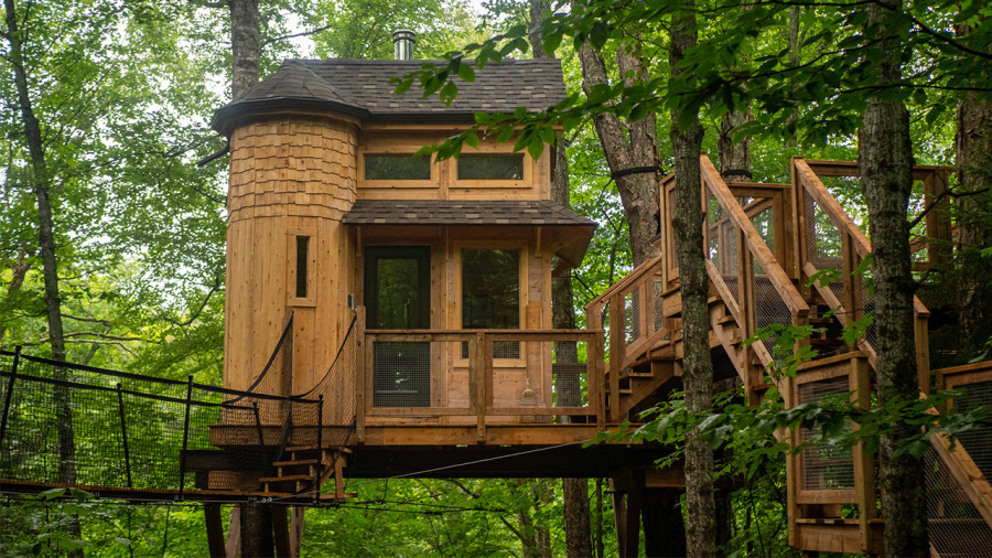 6 hébergements fantaisistes pour une escapade en plein air