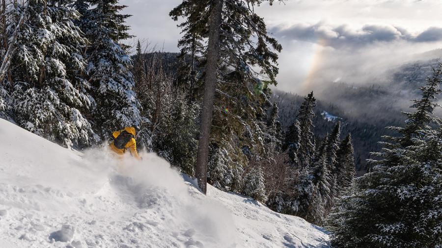 Ski hors-piste : retour aux sources au Massif