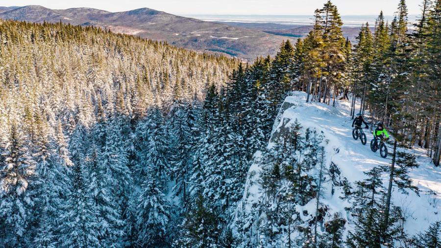 Fatbike : 10 destinations incontournables où rouler cet hiver