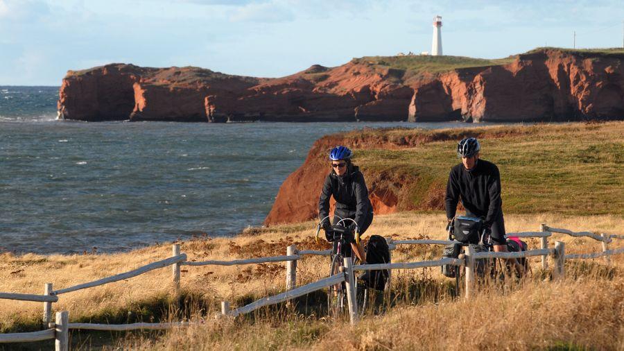 Vélo de route : L'île du Havre-Aubert (Îles de la Madeleine)