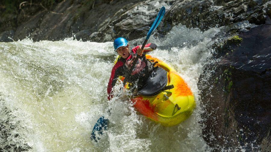 Kayak d'eau vive: rivière Mistassibi