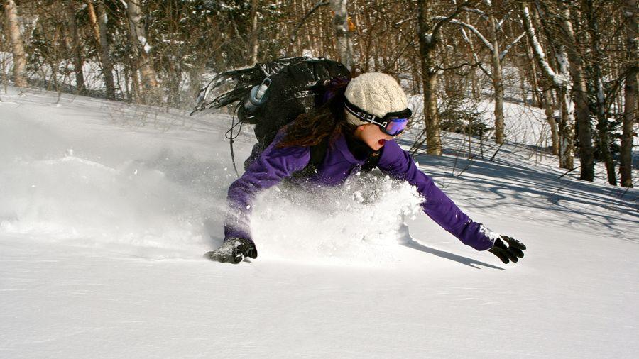 Ski alpin : hors-piste (québécois) délirant