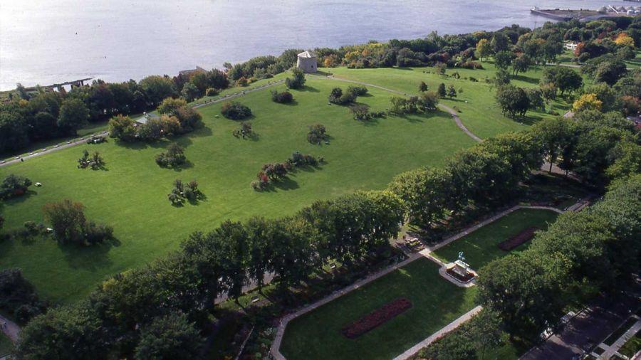 Québec : Courir le Parc des Champs-de-Bataille
