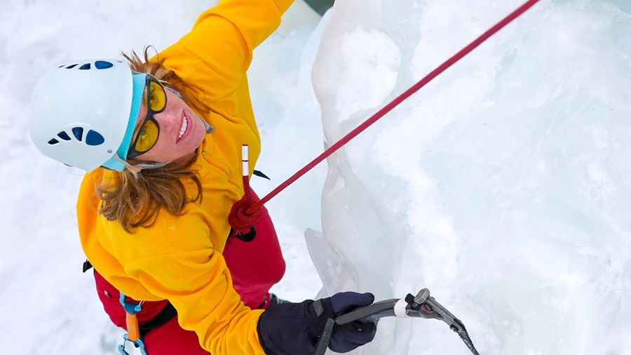 Montréal : Escalade de glace au Parc des Falaises