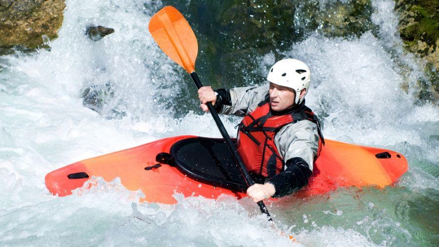 Kayak d'eau vive: Rivière Richelieu