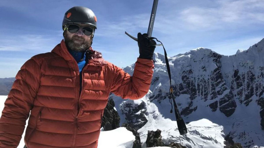 Un explorateur québécois en péril sur un glacier du Pérou