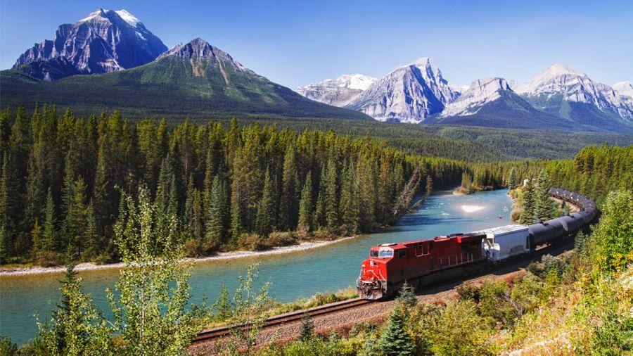 Le Canada en train illimité pour les 12-25 ans !
