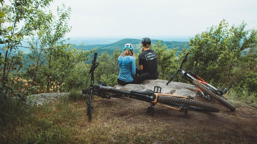 Bromont : vraiment vélo, simplement divertissant