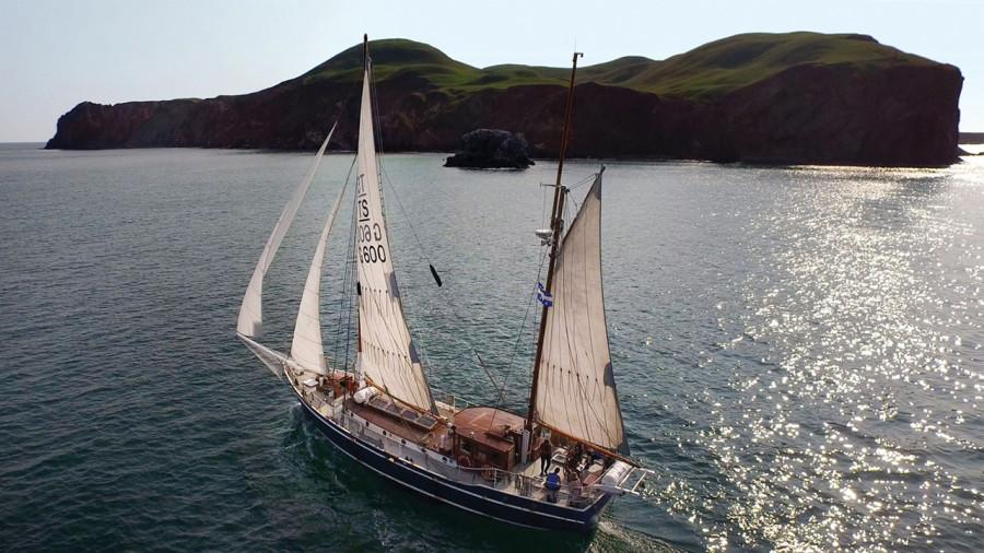 Basse-Côte-Nord : l'aventure à voile