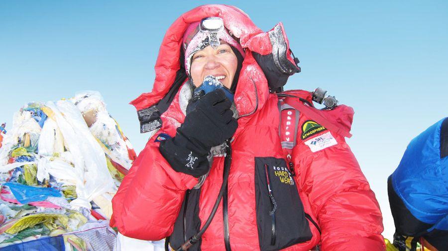 Véronique Denys : Au sommet de l'Everest