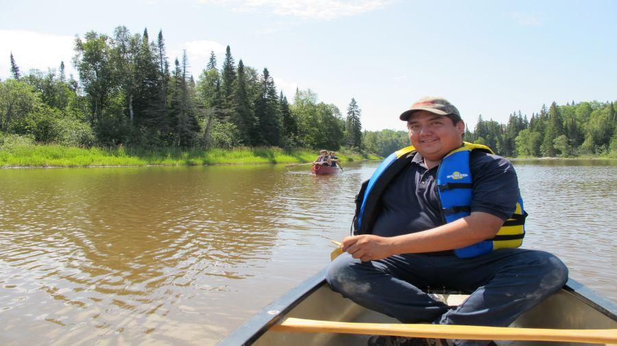 Incursion en terres algonquines : Visite guidée et canot-camping