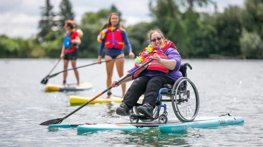 O'sijja : du SUP adapté aux personnes handicapées