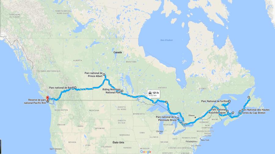 Road trip ultime en 10 parcs nationaux du Canada