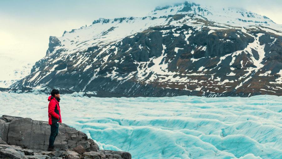 Un glacier de moins en Islande