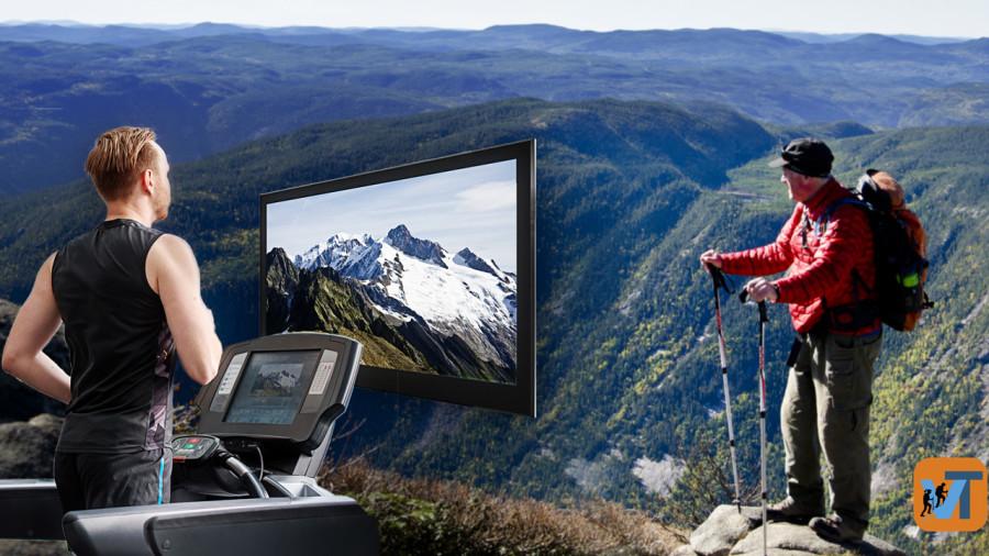 Virtual Trekking : randonner en montagne depuis son salon