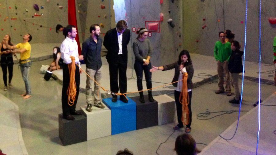 Le centre d'escalade et de yoga, Zéro Gravité, officiellement ouvert