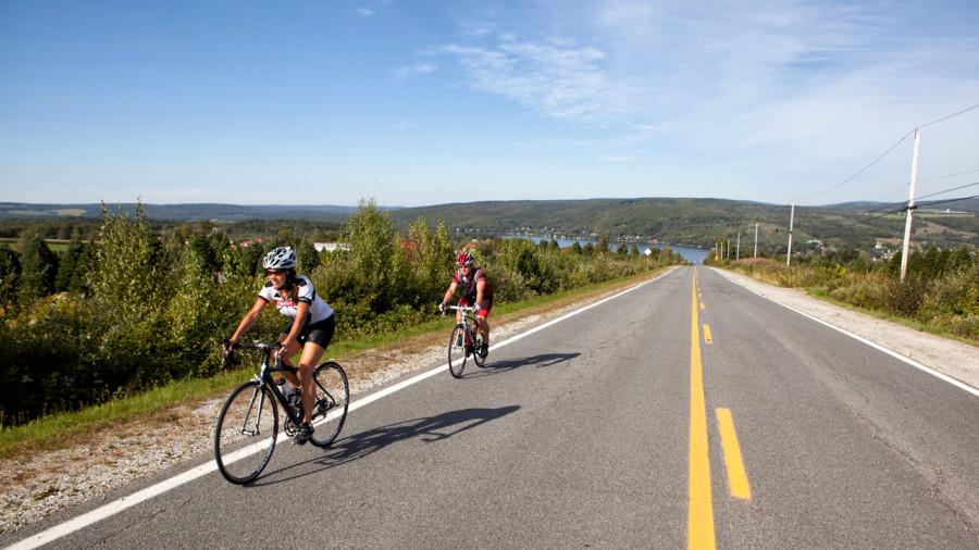 Vélo au Centre-du-Québec : un circuit, quatre services